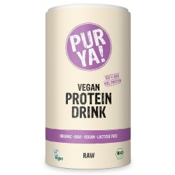 Vegan Protein Drink Raw Energy bio 550g PurYa!