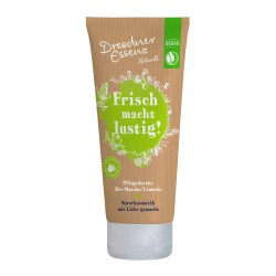 "Gel de dus vegan ""verde"" matcha si lime 200 ml Dresdner Essenz"