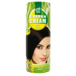 COLOUR CREAM - CREMA NUANTATOARE DARK BROWN 3 60 ml HennaPlus
