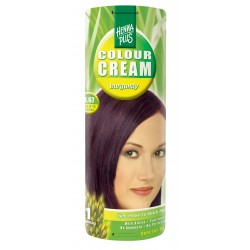 COLOUR CREAM - CREMA NUANTATOARE BURGUNDY 3.67 60 ml HennaPlus