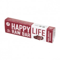 Baton raw bio cu nuci braziliene si guarana 42g - Happy Life