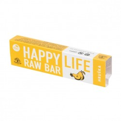 Baton raw bio cu pere 42g - Happy Life