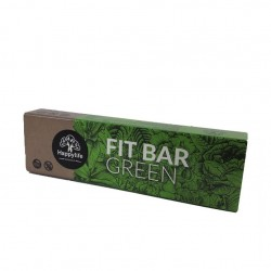 Baton vegan Fit Bar GREEN 42g - Happy Life