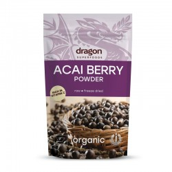 Acai pulbere raw bio 75g Dragon Superfoods