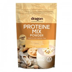 Mix proteic raw bio 200g Dragon Superfoods